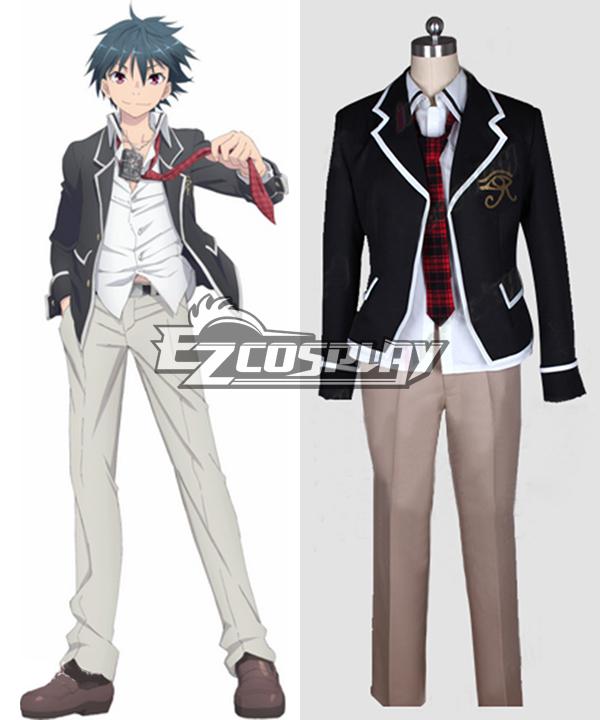 Trinity Seven: 7-nin no Masho Tsukai Arata Kasuga Cosplay Costume