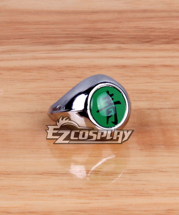 Naruto Cosplay Accessories Akatsuki Deidara Sei (Blue-Green) Ring