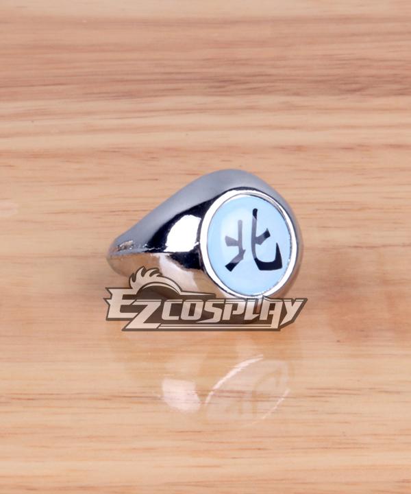 Naruto Cosplay Accessories Akatsuki Kakuzu Hoku North Ring