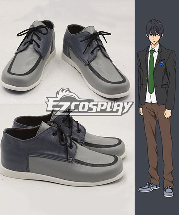 Free! Haruka Nanase school uniform Cosplay Shoes COSS0230