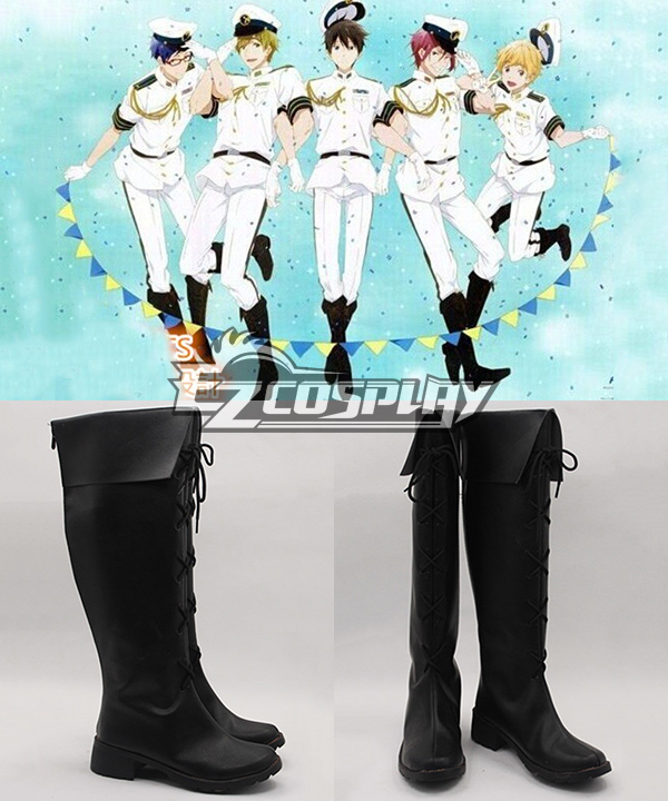 Free! Haruka Nanase uniform Cosplay Shoes