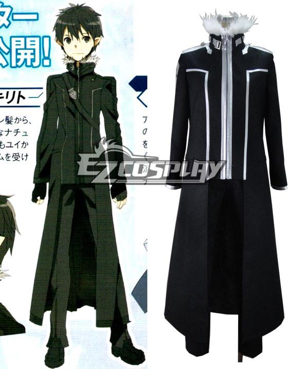 Sword Art Online Extra Edition Kirito Cosplay Costume
