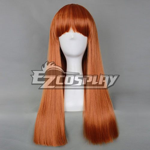 Universal Red Brown 60cm Long Wig-032E