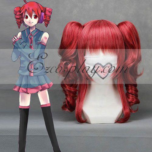 Vocaloid Teto Wine Red Cosplay Wig-043B