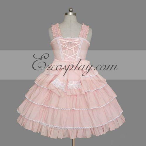 Pink Gothic Lolita Dress -LTFS0101
