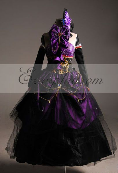 Anime Costumes ZBC0020 Vocaloid Megurine Luka Cosplay Costume-Advanced Custom