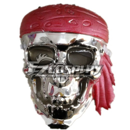 Pirates Of The Caribbean Cosplay Mask Shining