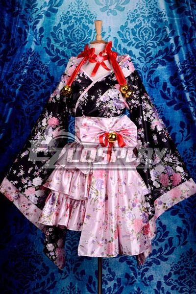 Summer Teto Lolita Dress Cosplay Costume