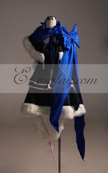 Vocaloid kaito Female Derivative Version Cosplay Costume-Advanced Custom