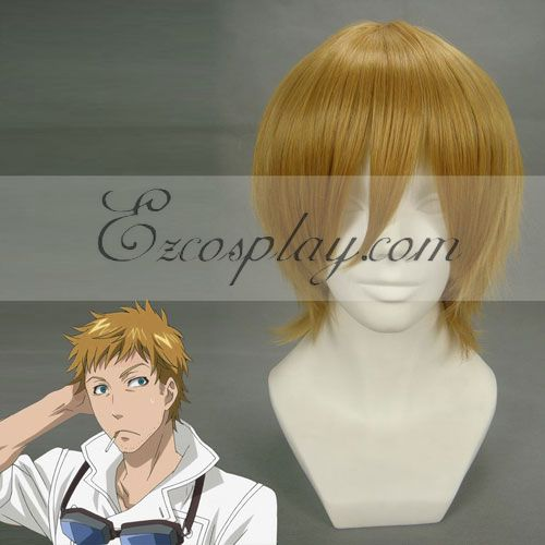 Black Butler Pluto Yellow Cosplay Wig-199A