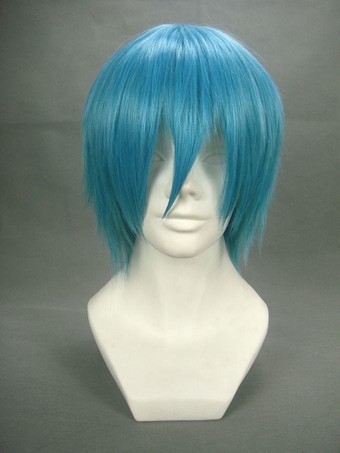 Soul Eater Black Star Royal Blue Cosplay Wig