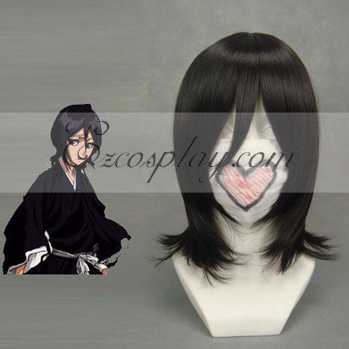 Bleach Kuchiki Rukia Black Cosplay Wig-192B