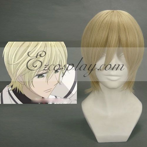 Vampire Knight Ichijou Takuma Yellow Cosplay Wig-196A