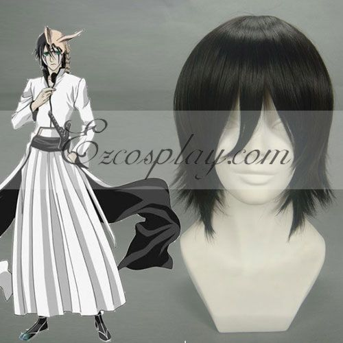 Bleach Ulquiorra Cifer Black Cosplay Wig-199B