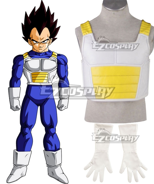 Dragon Ball Z Saiyan Vegeta Cosplay Costume None