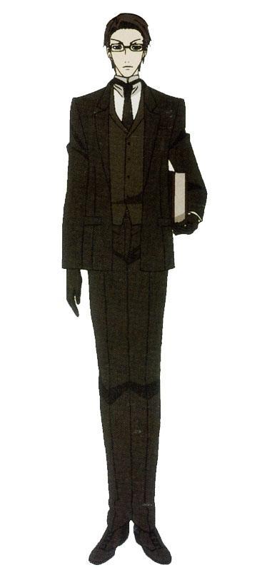 Black Butler William T Spears Cosplay Costume