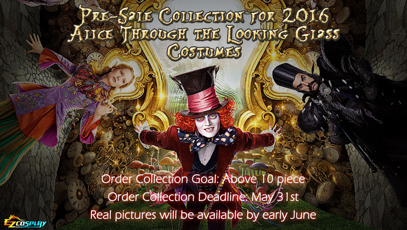 2016 Alice in Wonderland:Through the Looking Glass  costume  on Sale