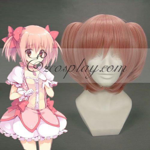 Puella Magi Madoka Magica kaname madoka Pink Cosplay Wig-208A