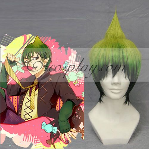 Blue Exorcist  Ao no Exorcist Amaimon Green Cosplay Wig-210A