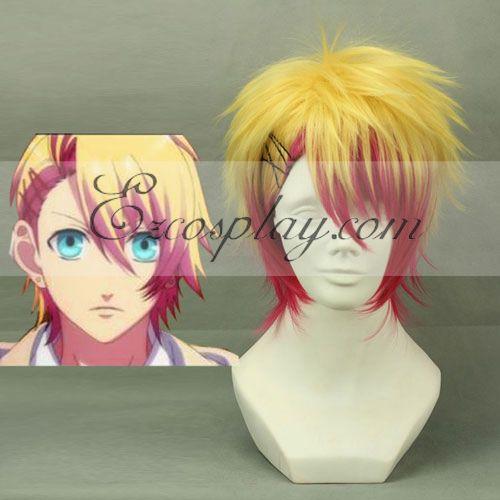 Image of Uta no Princesama Syo Kurusu Yellow&Red Cosplay Wig214A