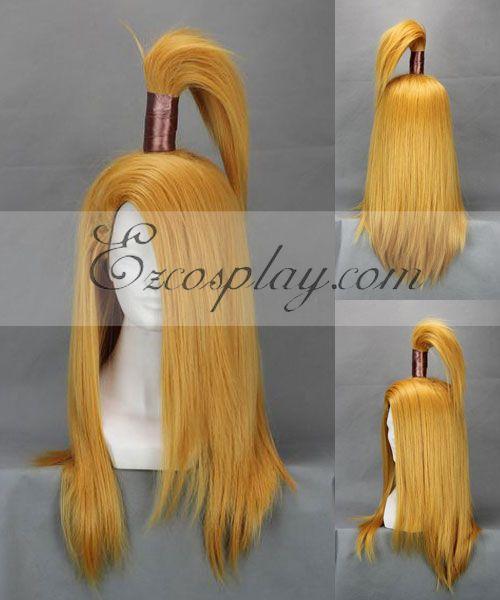 Naruto Deidara Yellow Cosplay Wig-240A