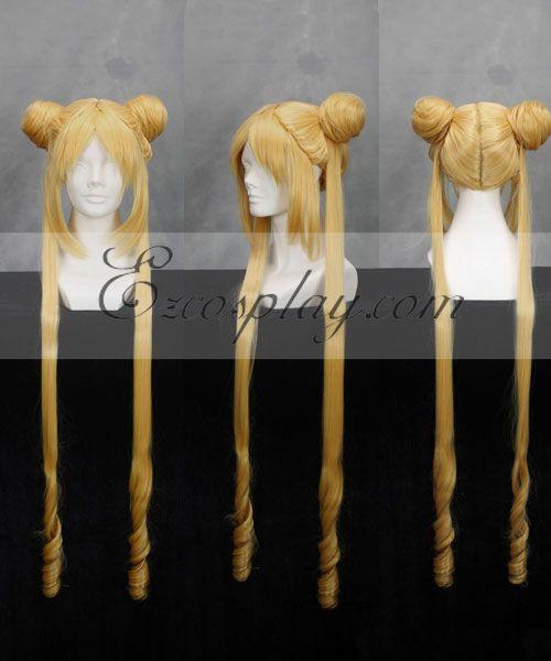 Sailor Moon Serena Tsukino Yellow Cosplay Wig-241A