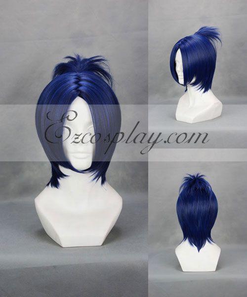 Image of Hitman Reborn! Rokudo Mukuro Blue Cosplay Wig244A