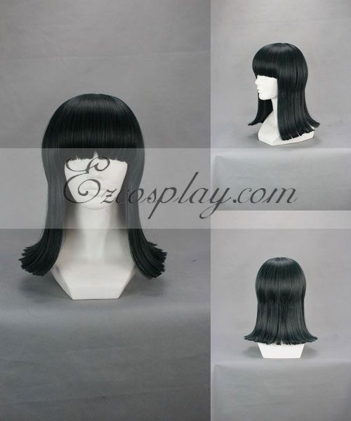 One Piece Nico Robin Dark Green Cosplay Wig-247A None