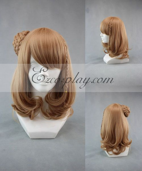 Amnesia Heroine Brown Cosplay Wig-264A