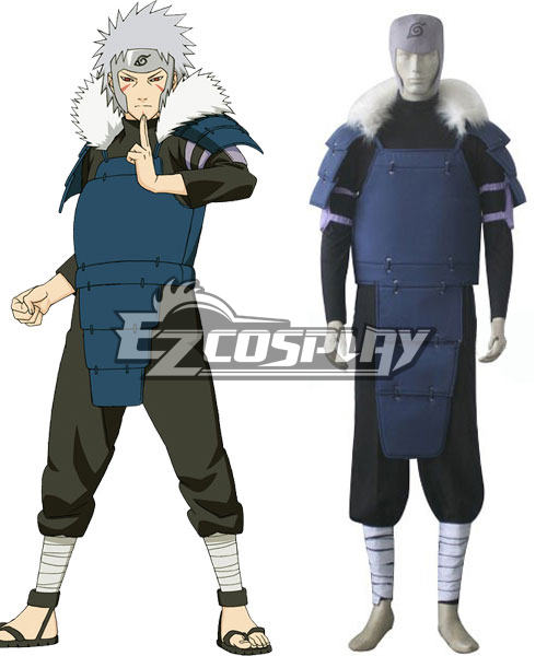 Naruto 2nd Hokage Senju Tobirama Cosplay Costume