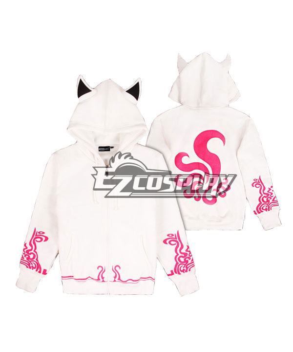 League of Legends Ahri Lovers Clothes Autumn and Winter Cosplay Hoodie Comic Related Product Animation Around Cosplay