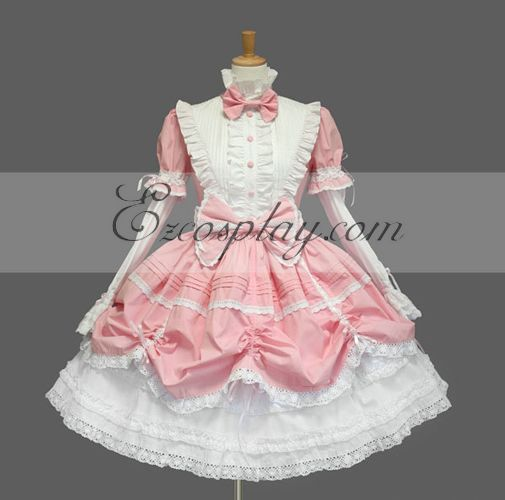 Image of Pink Gothic Lolita Dress LTFS0031