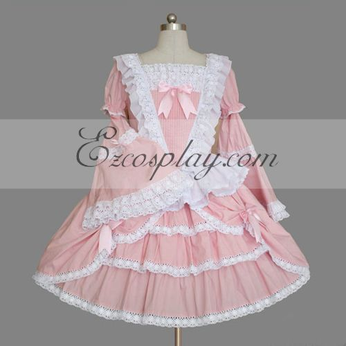 Image of Pink Gothic Lolita Dress LTFS0033