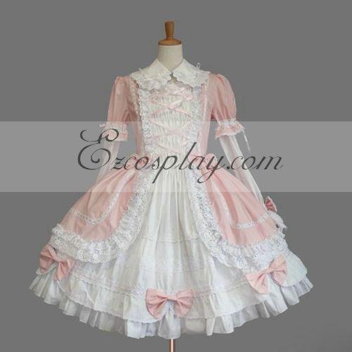 Pink Gothic Lolita Dress -LTFS0038