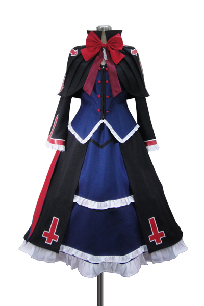 BlazBlue Alter Memory Rachel Alucard Lolita Dress Cosplay Costume(Concise Version)