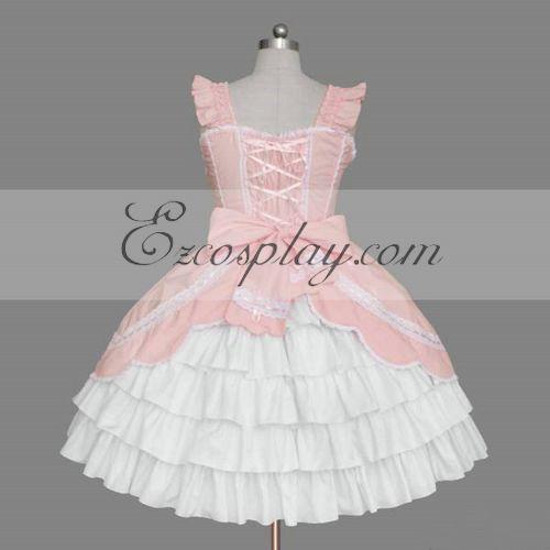 Pink Gothic Lolita Dress -LTFS0077
