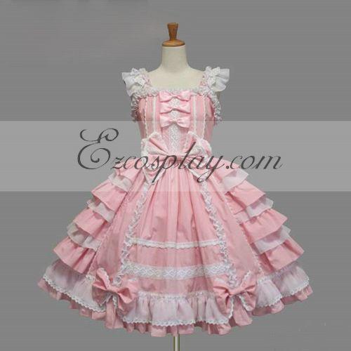 Black Gothic Lolita Dress -LTFS0099