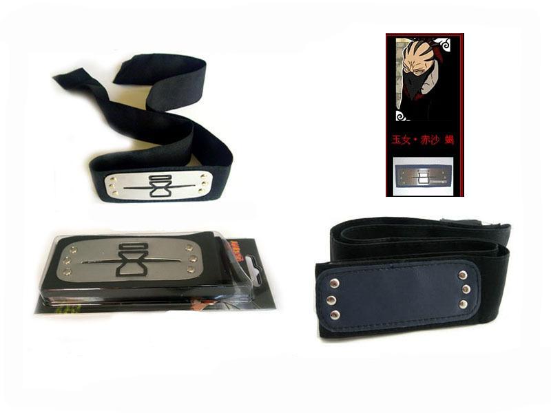 Naruto Cosplay Accessories Ninja Hidden Sand Village HeadBand.com