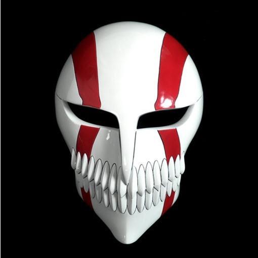 Bleach  Ichigo Full Hollow Mask C Cosplay Accessories Prop - Deluxe Edition