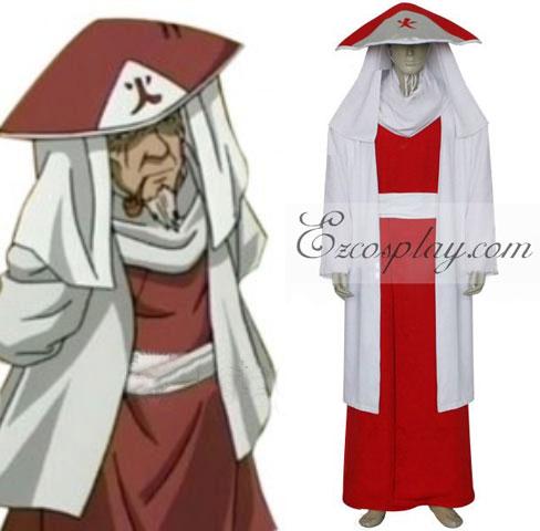 Naruto 3rd Hokage Sarutobi Hiruzen Cosplay Costume
