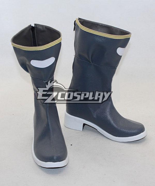 Sword Art Online (Gun Gale Online) Sinon Third Version Blue Shoes Cosplay Boots