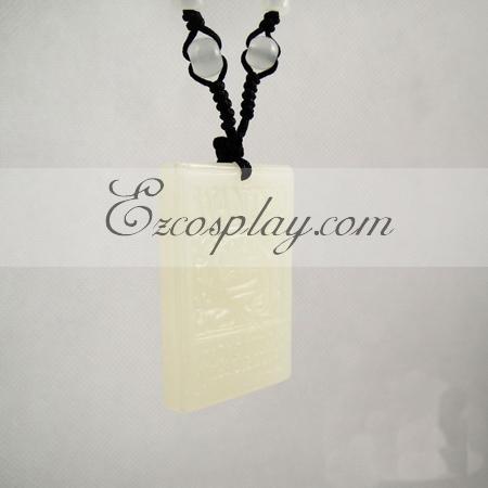 One piece Luffy Jade brand necklace