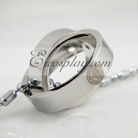 Hitman Reborn 2-ring necklace
