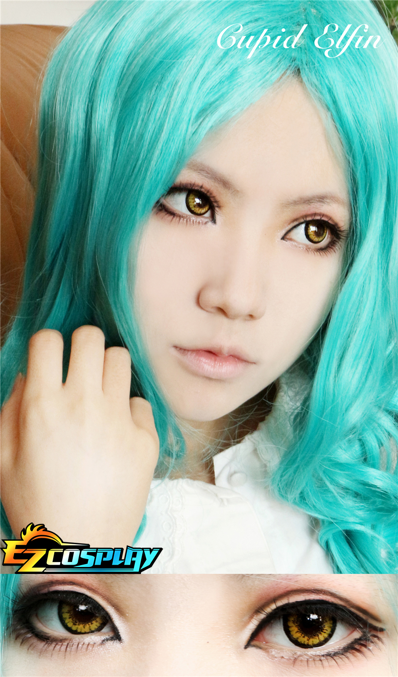 Cupid Evil Spirit Yellow Cosplay Contact Lense