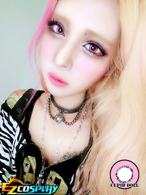 Cupid Doll Pink Cosplay Contact Lense
