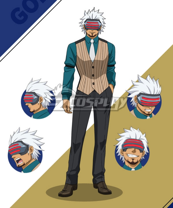Ace Attorney Season 2 Godot Cosplay Costume Costumes