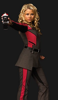 Red Uniform Cosplay Costume