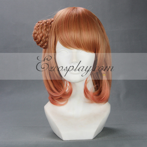 AMNESIA Heroine Red Brown Cosplay Wig-264B