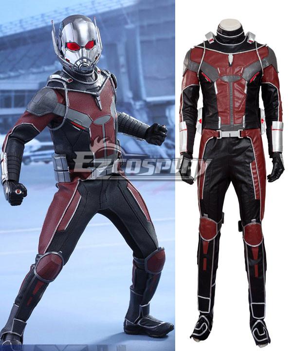 EMAV074 Marvel Captain America Civil War Ant Man Ant-Man Henry Hank Pym Cosplay Costume