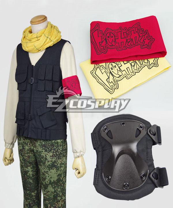 Aoharu x Machinegun Aoharu x Kikanjuu Tooru Yukimura Toy �Gun Gun Team Uniform Cosplay Costume